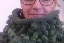 Saját munkák- DIY knitted and crochet pieces / Kötés-horgolás