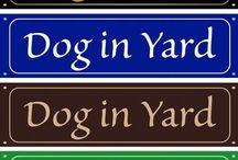 Garden - Yard Signs