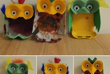 Kids craft: egg box