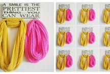 bufandas y cuellos crochet