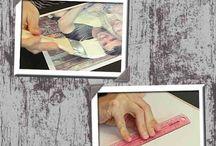 transferir fotos a madera o vidrio como hacerlo de una manera casera