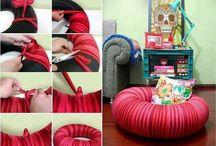 sillón tela llants