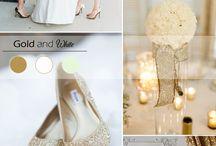 Wedding Vibe: Glam, Glitter, & Gold