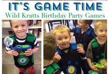 Birthday Party - Wild Kratts Party
