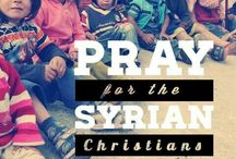 PRAYER / Pray for the persecuted Church.
