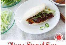 Asian steamed buns