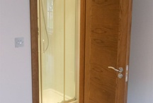 Bespoke Doors #bespokedoors / Bespoke timber doors supplied (and often installed) by Modern Doors Ltd #bespokedoors More bespoke doors at: https://www.modern-doors.co.uk/bespoke-doors.html