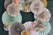 Ghirlande origami