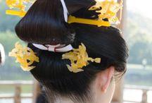 日本髪 Japanese traditional hair
