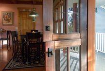 puerta para la cocina