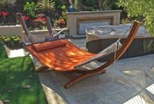 Swings & Hammocks / Swing the day away in our amazing collection of outdoor swings and patio hammocks