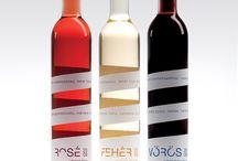 wine bottle & label design