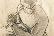 sketche, dibujos y similares
