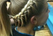 girlish hairstyle