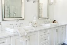 Master bath / by Beth Barrow