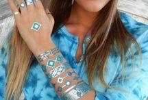 Body Art / Metallic Tattoos body paint body art