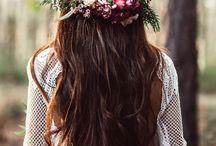 Boho Weddings / Beautiful Bohemian Wedding Inspo