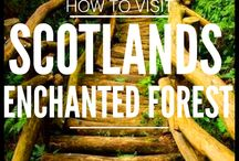 Scotland Bucket List / Best things to see and do in Scotland, dream destinations, transportation, attractions, excursions, places to see, national parks, hikes. Travel bucket list collection. Island hopping, best places for backpackers.