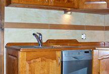 Kuchnie / Meble kuchenne z litego drewna