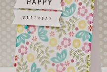 Patterned card ideas