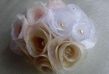 канзаши /  Цветы из ткани
