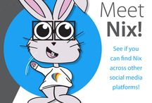 Meet Nix / Meet Nix, our company mascot. He's very social so you can find him all across your favorite social media platforms. Don't forget you can find him hopping around our website as well, www.aspnix.com
