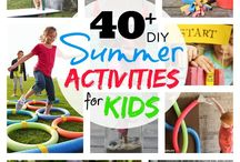 Summer Fun / Summer activities and tips that will keep the kids entertained and learning.