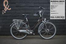 Reinkarnerede Buddha Bikes / Her er cykler vi har lavet i butikken.