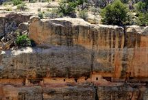 Sooooo cool / These are pictures of Mesa vered a Indian site where they built there society on a face of a cliff / by Jenna Lester