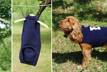 Dog goodies handmade / Handmade goodies for dogs: sweaters, coats, bags, etc. by Atelier Faggi