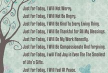 Quotes / Quotes to live by.