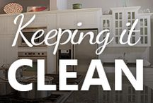 Keeping it Clean / Cleaning tips & tricks for around the home.