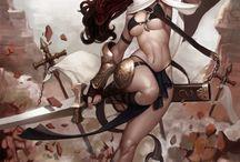 character design - female asian