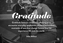 <3 Things: Attitude of Gratitude