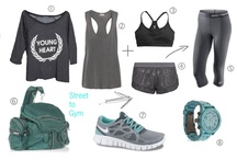Exercise Clothing / by Brittany Patterson
