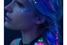 Rave Makeup / stay raving .