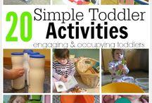 Toddler ideas/school