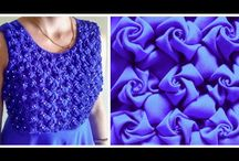 Folded fabrics