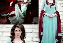 Party Wear Dresses / Latest party wear dress designs for girls in 2014. New partywear shalwar kameez designs for women. wedding party dress design 2014 with simple cuttings.