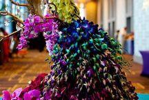 фигуры из цветов
