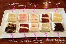 Cake tasting idea