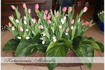 Tulipany - inspiracje sala, kościół
