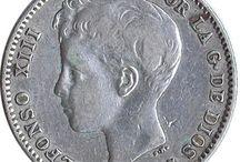Monedas 1 Peseta-Plata