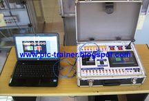 TRAINER HMI / JUAL TRAINER HMI  / TRAINER TOUCHSCREEN  Trainer HMI atau Trainer TOUCHSCREEN ini merupakan trainer yang digunakan untuk siswa dalam mempelajari PLC sekaligus untuk mempelajari HMI ( Human Machine Interface ). Dengan model koper yang simple dalam peletakannya diatas meja, lebih dapat memfokuskan siswa pada saat membuat program PLC sekaligus nantinya mendesain program HMI dengan desain gambar yang bisa ditentukan siswa sesuai dengan sistem kerja mesin / soal yang diberikan guru pengajar.