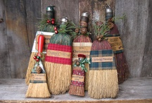 Old Whisk Brooms!!! / ~ / by Nancy Peterson