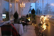 autumn/winter balcony