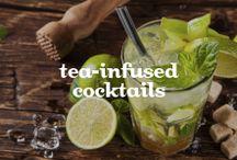 Tea-Infused Cocktails | Cocktails infusés au thé