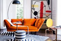 Pop art interior