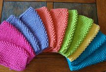 Crochet Dishcloths, Potholders & More / by Bonnie McClintic