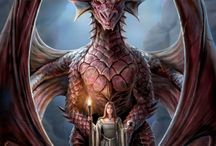 Writing (dragons) / by Juliana Haygert